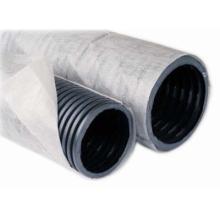 труба дренажная гофр. двухслойная пнд ø200 мм sn6 с фильтром  дренажные трубы с фильтром