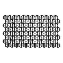 решетка газонная рг-70.40.3,2 пластиковая черная (694х400х32)  газонная решетка