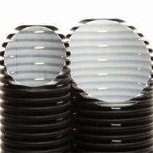 труба дренажная гофр. двухслойная пнд ø200 мм sn6 без фильтра  дренажные трубы без фильтра