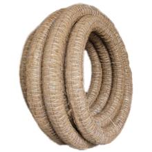 труба дренажная пэнд-110 (ø110/93 мм) в фильтре из кокос. волокна (бухта 50 м.) Агросток трубы агросток фильтр кокос