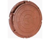 люк полимерно-композитный легкий 780/105/40 мм 7 тн (коричневый)  люки полимерные