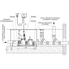 ТП-85.100-КЗЭ Канализационный затвор с электроприводом