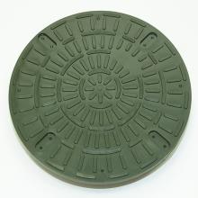 Люк (дно) полипропиленовый 1,5т (A15) универсальный 315, зеленый