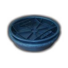 крышка (дно) колодца 425 с уплотнительным кольцом Wavin колодец wavin ø425