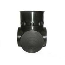 лоток ø580 мм универсальный тройниковый вход до ø400 мм FDplast колодец fdplast ø400/460