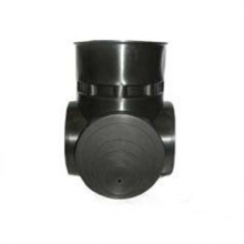 лоток ø850 мм универсальный тройниковый вход до ø600 мм FDplast колодец fdplast ø600/695