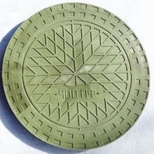 люк полимерно-композитный 1,5т (a15) для гофротрубы колодца ø460 мм (зеленый) FDplast колодец fdplast ø400/460