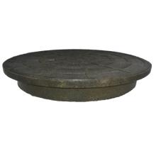 крышка (дно) полимерно-композитная для гофротрубы колодца ø315 д Политэк колодцы политэк