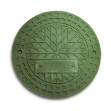 люк полимерно-композитный 1,5т (a15) для гофротрубы колодца 425 в (зеленый) Wavin колодец wavin ø425