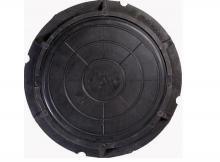 люк полимерно-композитный легкий 780/100/40 мм 7 тн (с запорным устройством)  люки полимерные