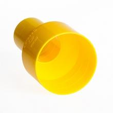 муфта переходная для труб гофр. d=110 на d=63 мм  дренажные фитинги