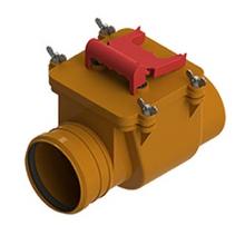 клапан обратный  пп 110 кирп. тп-85.100  фитинги пвх