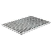 решетка стальная ячеистая 390х590  системы грязезащиты