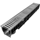 Лоток Ecoteck STANDART 100.125h129 c решеткой стальной, кл. А15
