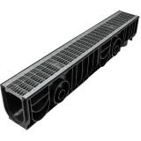 Лоток Ecoteck STANDART 100.175h179 c решеткой сварной оцинкованной, кл. В125