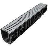Лоток Ecoteck STANDART 100.175h179 c решеткой стальной, кл. А15