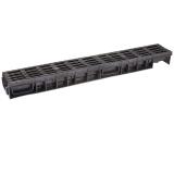 Лоток Ecoteck MEDIUM 100.65 h85 с черной решеткой пластиковой, кл.В125