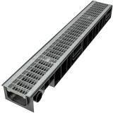 Лоток Ecoteck STANDART 100.99h99 c решеткой сварной оцинкованной, кл. В125