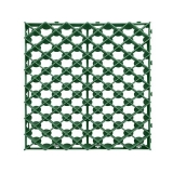 решетка газонная рг-60.60.4 пластиковая зеленая (600х600х40)  газонная решетка
