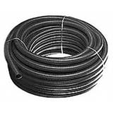 Труба дренажная гофр. однослойная ПНД 160/141,6 мм (черная) без фильтра