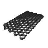 Решетка газонная РГ-70.40.3,2 пластиковая черная (694х400х32)