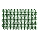 решетка газонная рг-70.40.3,2 пластиковая зеленая (694х400х32)  газонная решетка