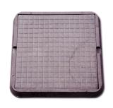 Люк полимерно-композитный 685 х 685 мм 3 т (коричневый)