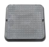 Люк полимерно-композитный 685 х 685 мм 3 т (серый)