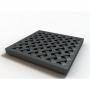 Решетка пластиковая усиленная из композит. пластика, цвет черный к дождеприемнику