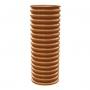 Гофротруба колодца ПЭНД двухслойная 315/368 мм (по 6 м)