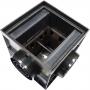 Дождеприемник пластиковый 300х300 со стальной решеткой (в сборе)