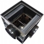 Дождеприемник пластиковый 300х300 с пластиковой решеткой (в сборе)