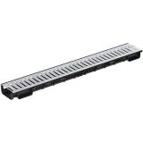 Лоток Ecoteck Lite 100h56 с решеткой стальной, кл. А15