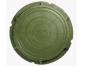 Люк полимерно-композитный легкий 760/90/40 мм 5 т (зеленый)