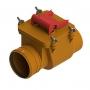 Клапан обратный  ПП 110 кирп. ТП-85.100