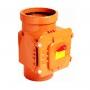 Клапан обратный НПВХ 110 кирп.
