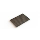 Придверная решетка стальная 390х590 ячейка 33х11