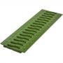 Решетка 100 пластиковая Волна, цвет зеленый папоротник к лотку